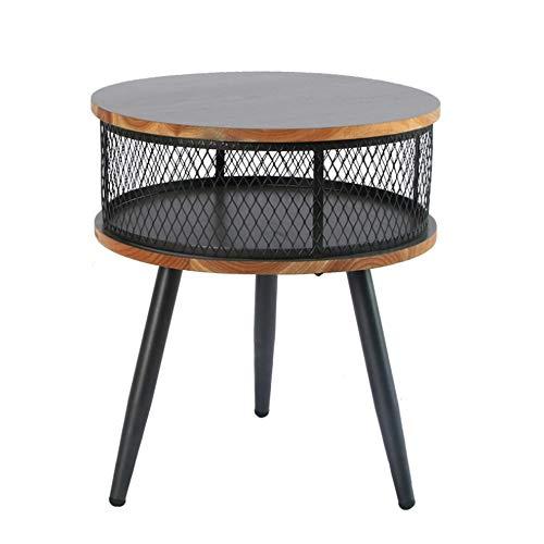 Bureau DD bijzettafel, kleine houten salontafel, bank hoek tafel, opslag kleine ronde tafel, snacktafel, salontafel -werkbank
