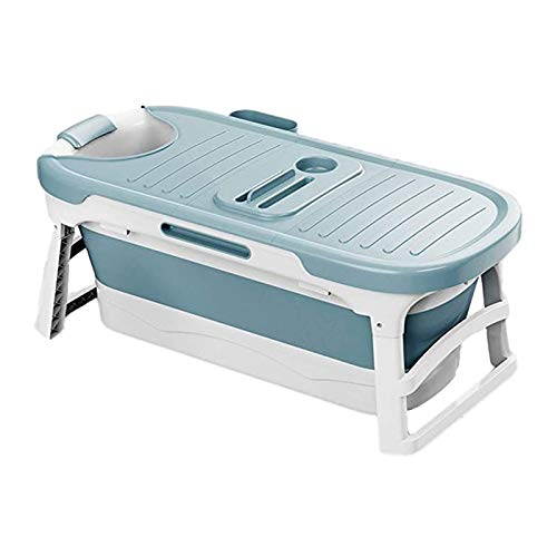 1.36m Bañera Plegable Bañera Plegable Adulto Completo Cuerpo Lavado Bañera Bañera Adulto Home Bathtub Sit Sit Niños Natación Barril Artefacto (Color : Type1)
