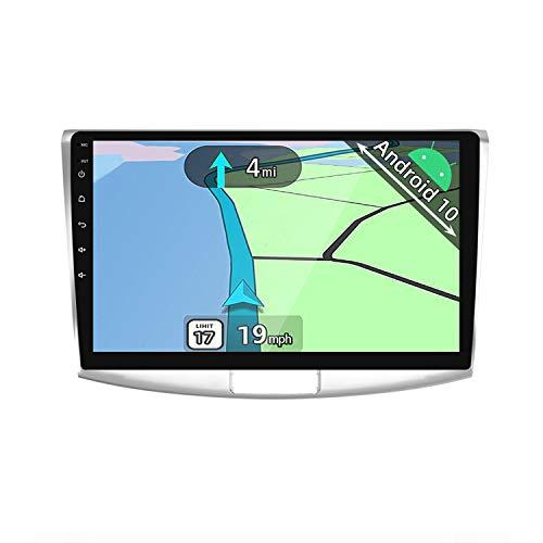 YUNTX Android 10 2 Din Autoradio For VW Passat B6 B7 Magotan CC (2010-2015) - 10,1 Pulgadas - Gratis Cámara Trasera - Soporte DAB   GPS   Mandos de Volante   CarPlay   WiFi   Bluetooth 5.0  MirrorLink