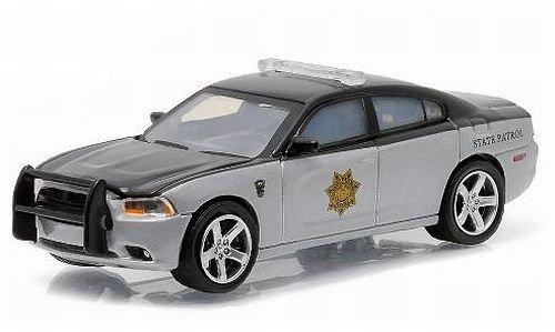 Dodge Cargador, Colorado State Patrol, Model Car, Preparado, Greenlight 1:64