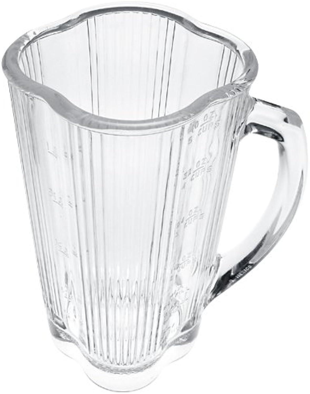 Waring 003573 Standard Size Bgoldsilicate Glass Jar Without Blade for Blender, 40 oz