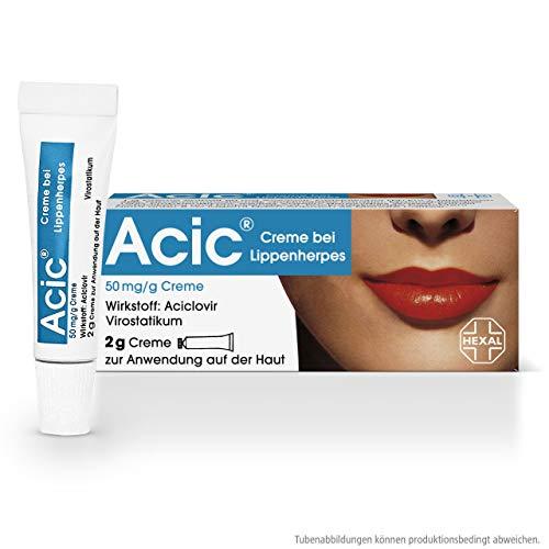 Acic Creme bei Lippenherpes, 2 g Creme