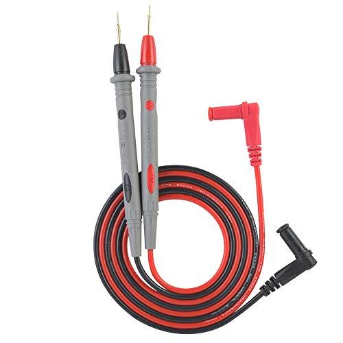 Cable de prueba Voltímetro Conjunto profesional Kit de conectores electrónicos Multímetro automotriz esencial Punta de aguja Herramienta de mano Sonda Pluma para la mayoría de los