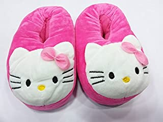 Shopkooky Unisex Naughty Emoji - Fully Covered Slip on Home Shoes- Warm, Comfortable Slippers Anti-Slip Home Shoes Perfect for Little Kids