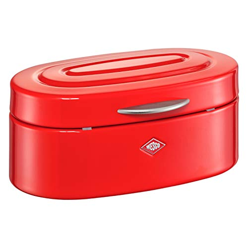 WESCO Mini Elly Boîte de Rangement en Acier Rouge 22,5 x 13,5 x 10 cm