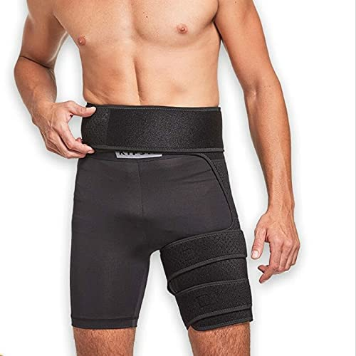 Reusable Thigh 67% OFF of fixed price Supports 1PCS Adjustable Compression Hip Gro Belt We OFFer at cheap prices