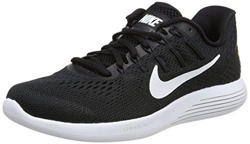 Nike Damen Lunarglide 8 Laufschuhe, Schwarz (Schwarz/Weiß), 37.5 EU