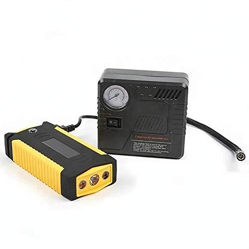 unknow 20000Mah 4USB Starthilfe800 Ampere Anweisungen Wasserdichter tragbarer Auto-Starthilfe und Luftkompressor