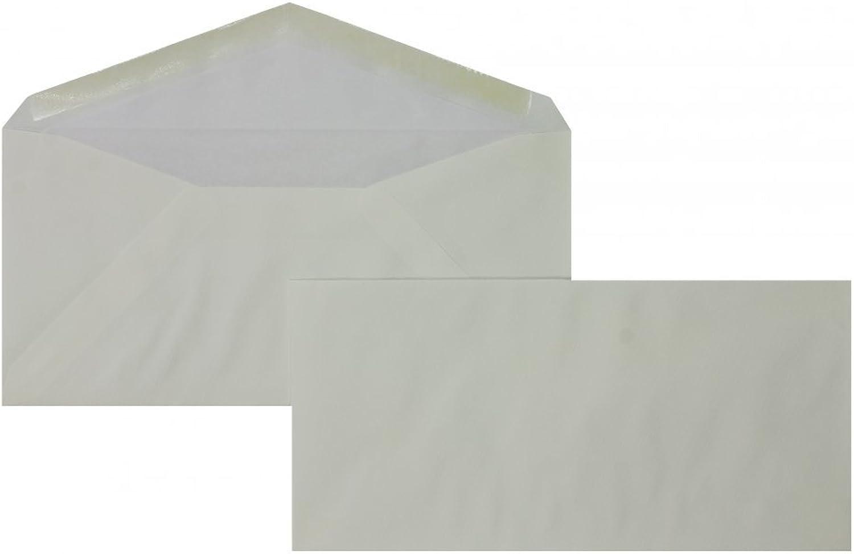 Briefhüllen   Premium   110 x 225 mm Weiß (100 Stück) Nassklebung   Briefhüllen, KuGrüns, CouGrüns, Umschläge mit 2 Jahren Zufriedenheitsgarantie B01DW3KRB8 | Am praktischsten
