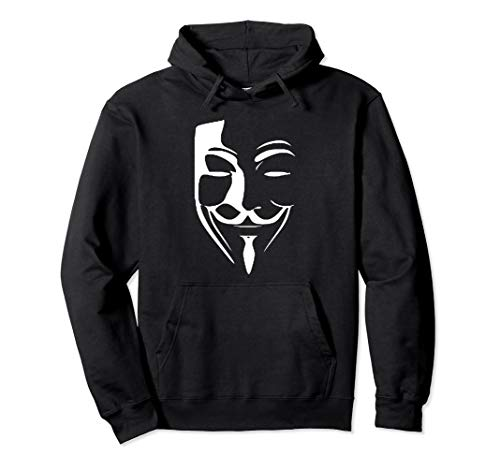 Anonymous Maske Pullover Hoodie