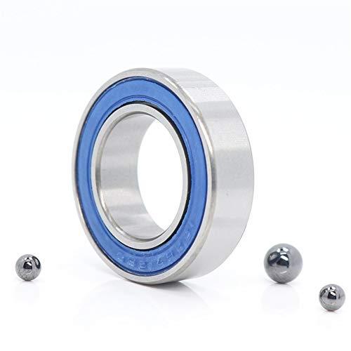 LUANAYUN-PHONE CASE Flexible Durable 15267RS Si3N4 híbrido Que Lleva cerámica 15x26x7mm ABEC-1 Bicicletas Bottom Soportes de los rodamientos de Bolas de recambios 15267-2RS (1 PC) cojinete de Bolas