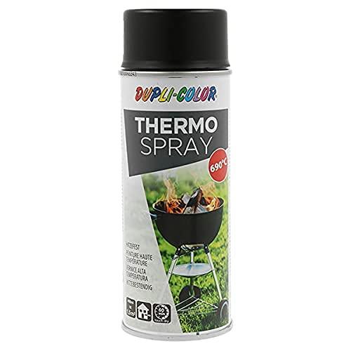 DUPLI-COLOR 467523 THERMO SPRAY schwarz 690°C 400 ml, transparent