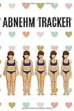 Abnehm Tracker: Für Frauen / Journal für Körperwerte / Maße Bauch Brust Arme usw. / Gewicht /...