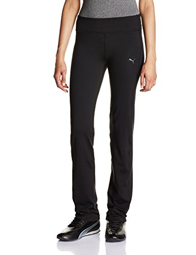 Puma Damen Straight Leg Hose, black, M, 512809 01