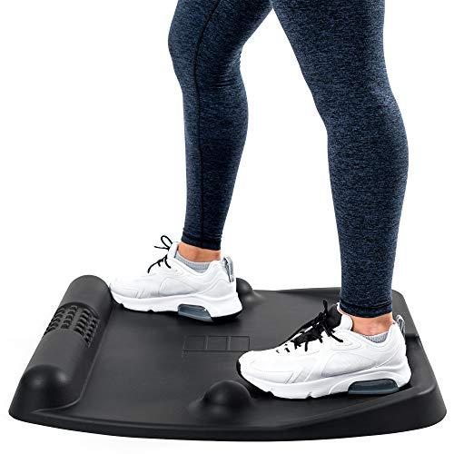 Anti Fatigue Mat Standing Mat Anti-Ermüdungsmatte Stehmatte Komfort Matte - weniger Rücken Belastung – für Stehtisch Standing Desk Stehpult I besser als orthopädische Sitzkissen Sitzball Rückenkissen