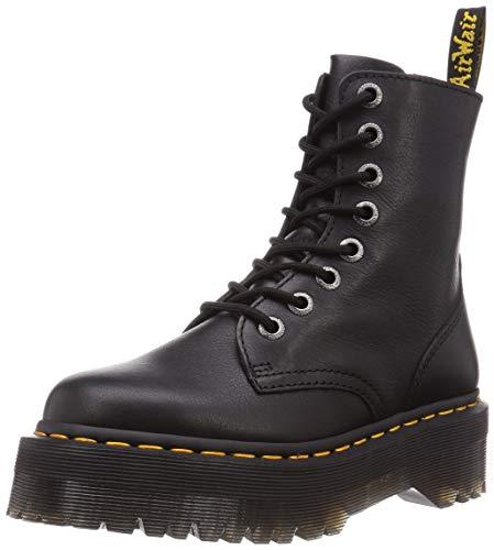 Dr. Martens Unisex Jadon III Pisa Leather Black Boots 6.5 UK