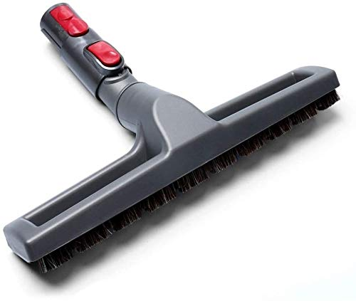 Cepillo de piso de repuesto con adaptador apto para Dyson V7 V8 V10 V11 Partes de aspirador de piso duro cepillo adoptador herramienta de limpieza cepillo de repuesto Partes de aspirador