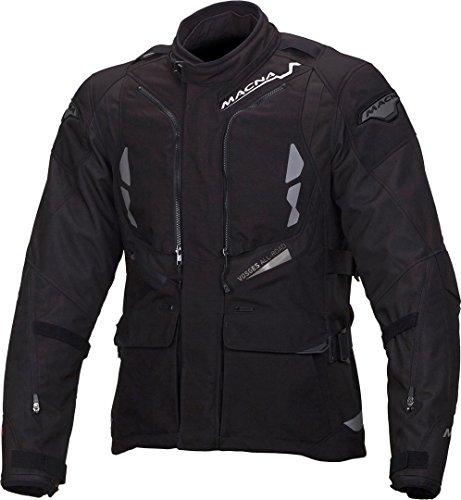 Macna Vosges - Chaqueta textil para moto, talla M, color negro