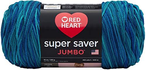 Red Heart Super Saver Jumbo E302C, Macaw
