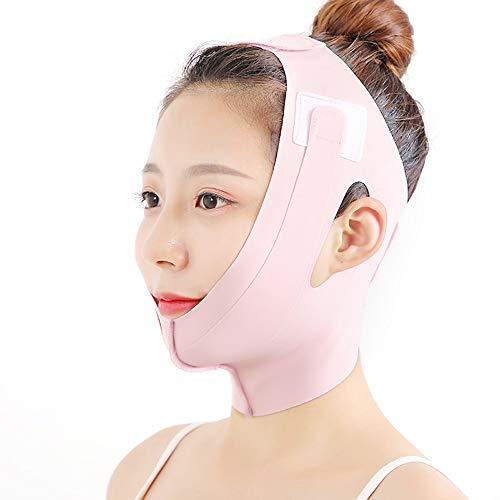HIZLJJ Gesicht Slimmerbelt, V-Form Gesichts Cheek Lift Up Thin Maskenband Face Line Anti-Falten-Schönheits-Werkzeug-Doppelkinn reduzieren Bandage for eine Frau einen Mann