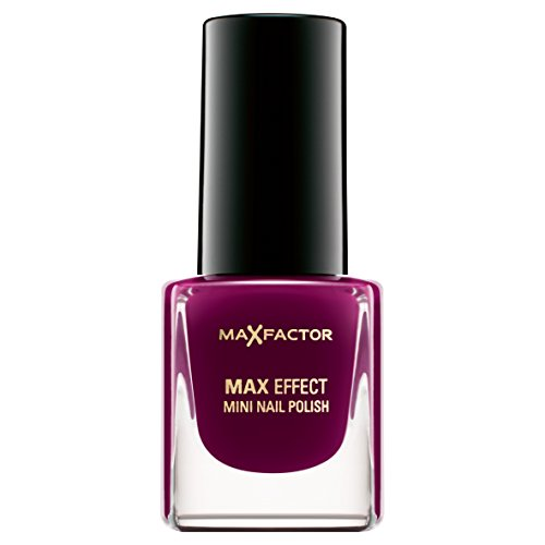 Max Factor Max Effect Mini Nail Polish 24 Intense Plum, 1er Pack (1 x 5 ml)