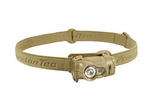 Princeton Tec Byte Tactical Stirnlampe (100 Lumen, Hellbraun)