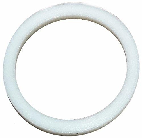 Aerzetix: 5 X Weißes technisches Dichtung im PTFE 15mm 2mm 19mm -120...250°C PG9
