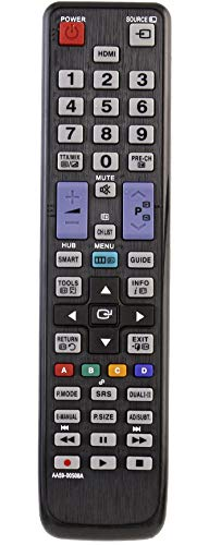 VINABTY AA59-00508A ErsatzFernbedienung für Samsung TV UE40D5700 UE40D5500 UE40D5520 UE32D5500 UE32D5520 UE37D5520 UE46D5700 UE37D5700 UE46D5520 UE37D5720RSXZF UE22D5010 UE27D5010 UE37D5500 UE46D5500
