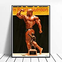 Phil Heath Poster Multiple size Gym Decor Phil Heath Picture print Home Gym Fitness Bodybuilding Poster Inspirational Wall Art Decor Canvas Paintings
