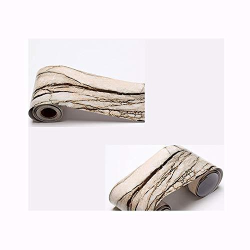 Cenefa autoadhesiva 10 m PVC Papel pintado pegatinas, Frisos de papel pintado, Cocinas baños y azulejos decoración...
