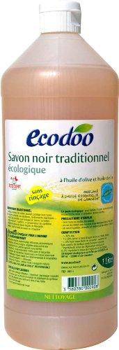 Savon noir traditionnel écologique, à l'huile d'olive et de lin, 1 L