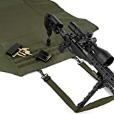 Savior Equipment Tactical Deluxe Padded Quick Release All-Purpose Shooting Mat - Anti-Slippery, Roll-Up Style w/Carrying Handle