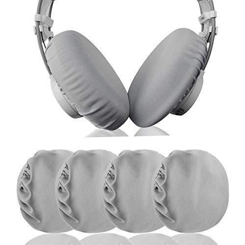 """Geekria Fundas de tela Flex para auriculares . Se adapta a las almohadillas para los oídos de los auriculares de 4.33 """"-6.29"""" para colocar sobre las orejas / bueno para gimnasio, entrenamiento"""