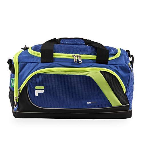 Fila Advantage 19' Sport Duffel Bag, Blue/Lime, One Size