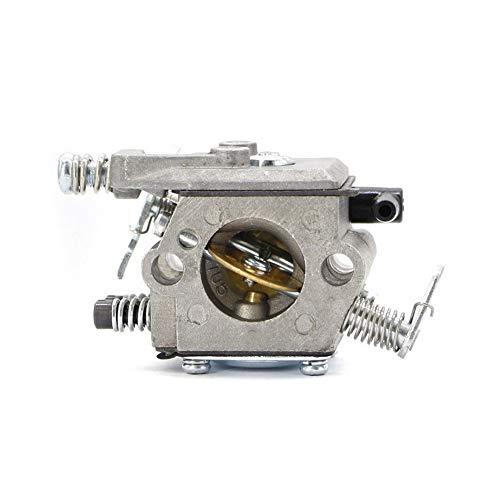 Dafengchui Carburador Carber for Walbro 017 018 MS170 MS180 Piezas de recambios de Motosierra for Piezas de Herramientas de jardín Tipo Walbro (Color : Silver)