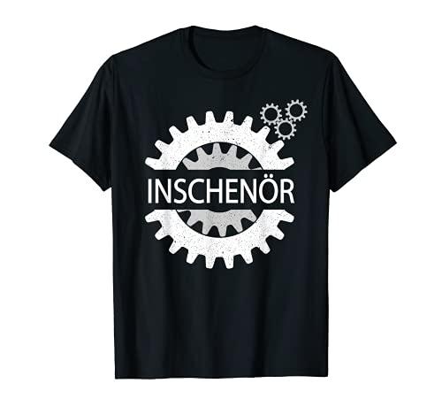 lustiges Ingenieur T-Shirt - INSCHENÖR Österreich Retro T-Shirt