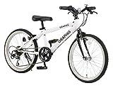 GRAPHIS(グラフィス) 子供用自転車 クロスバイク 24インチ 6段変速 スキュワー式 ジュニアサイクル...