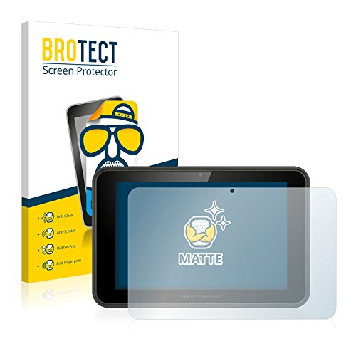 BROTECT 2X Entspiegelungs-Schutzfolie kompatibel mit HP Pro Slate 10 EE Bildschirmschutz-Folie Matt, Anti-Reflex, Anti-Fingerprint