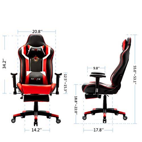 Ficmax Gaming Stuhl  Massage Bild 4*