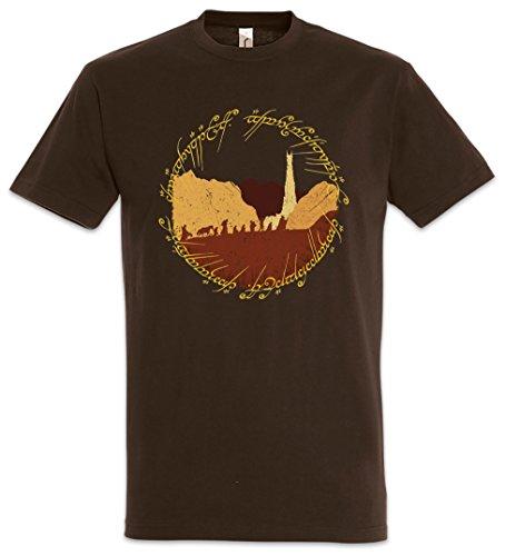 Urban Backwoods Ring Fellowship Uomo T-Shirt Marrone Taglia M