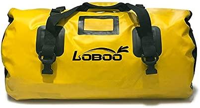 LOBOO Waterproof Bag 66L Motorcycle Dry Duffel Bag for Travel,Motorcycling, Cycling,Hiking,Camping