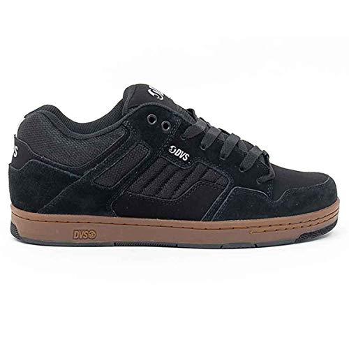 DVS Herren Enduro 125 Skate Schuh, Schwarz (Schwarz/reflektierendes Gummi), 39 EU