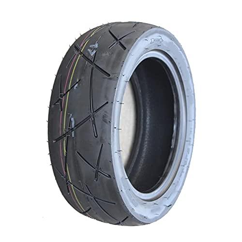 SUIBIAN Neumáticos para Scooter eléctrico, neumáticos sin cámara Resistentes al Desgaste de la Motocicleta neumáticos Antideslizantes cómodos y silenciosos, con Herramientas de instalación,120/70 10