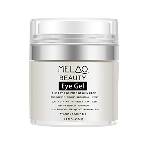 Eye Gel Eye Moisturizer Cream for Dark Circles, Puffiness, Wrinkles and Eye Bags, Fine Lines Under and Around Eyes, 1.7 fl. Oz.