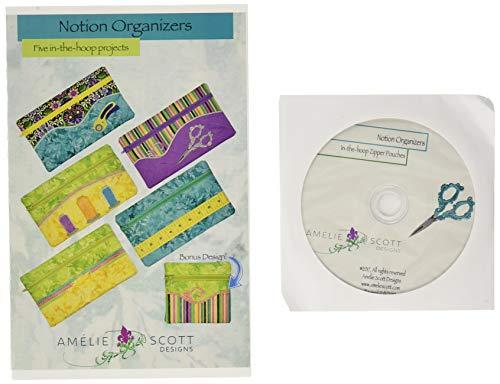 Amelie Scott Designs Notion Organizers Machine Embroidery Designs