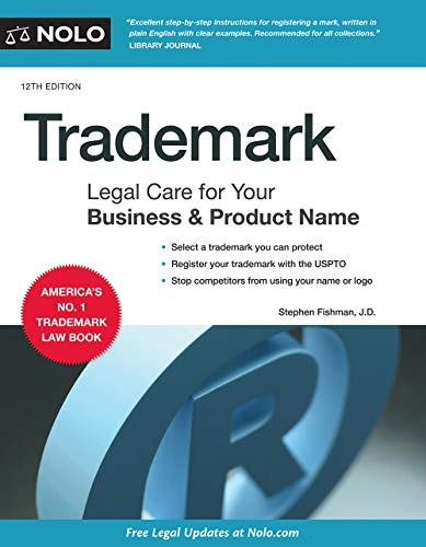 Trademark: Legal Care for Your Business & Product Name (English Edition)
