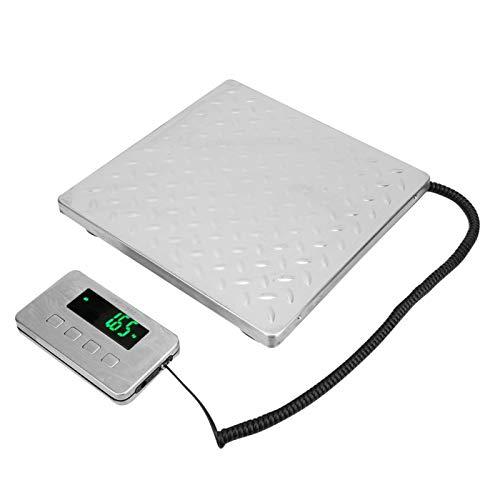 Mxzzand Balanza electrónica Balanza electrónica de Acero Inoxidable de Calidad Estable para la Industria con Pantalla de visualización Digital