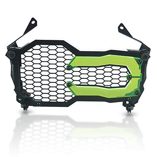 R1200GS R1250GS Motorrad Schutz Frontscheinwerfer Schutzhülle für BMW R1200GS/R1200GS ADV 2014-2020 R1250GS/R1250GS ADV 2018-2020-Grün