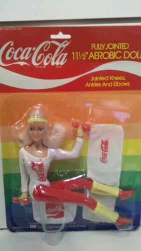 Coca-Cola COKE 11-1/2' AEROBIC DOLL WITH ACCESSORIES