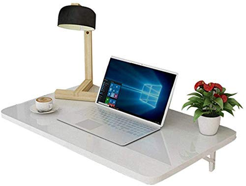 QLCY-78OI Klapptisch Tabelle Klapptisch, Wand-Computer-Schreibtisch, Wand-Werkbank, Kinder Studie Tisch, Küchentisch, Weiß (Größe 80 × 50 cm), 50 × 30 cm (Größe: 100 x 50 cm) (Size : 70×40cm)